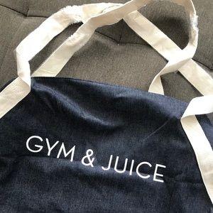 Gym and Juice gym bag